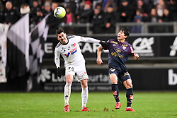 November 28, 2017 - Amiens, France - 22 Changhoon KWON (dij) - 35 Danilo AVELAR  (Credit Image: © Panoramic via ZUMA Press)