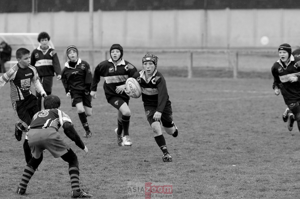 Match du RCV, Rugby Club de Vannes, a Bruz