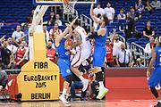DESCRIZIONE : Berlino Berlin Eurobasket 2015 Group B Italy Serbia<br /> GIOCATORE :  Miroslav Raduljica<br /> CATEGORIA :Controcampo Penetrazione curiosità<br /> SQUADRA : Serbia<br /> EVENTO : Eurobasket 2015 Group B <br /> GARA : Italy Serbia<br /> DATA : 10/09/2015 <br /> SPORT : Pallacanestro <br /> AUTORE : Agenzia Ciamillo-Castoria/I.Mancini <br /> Galleria : Eurobasket 2015 <br /> Fotonotizia : Berlino Berlin Eurobasket 2015 Group B Italy Serbia