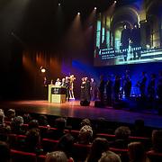 NLD/Utrecht/20181005 - L'OR Gouden Kalveren Gala 2018, Bankier van het Verzet krijgt gouden kalf