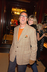 A A GILL at a party at Ralph Lauren, Bond Street, London in support of the NSPCC's Full Stop campaign on 21st March 2006.<br />