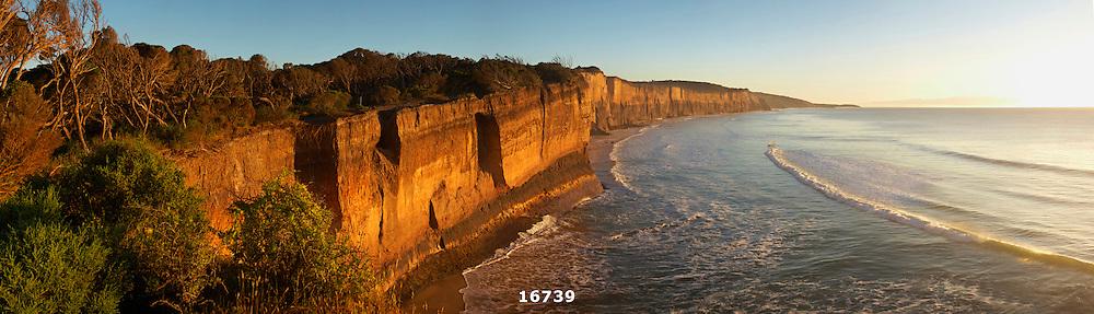 Anglesea cliffs sunrise