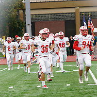 Oct. 14, 2017: On a rainy afternoon at Clark Field in Cedar Rapids, Central defeated Coe 30-19