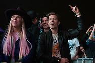 Shaun and Iouri enjoy Kendrick Lamar at Air & Style LA at the Rose Bowl in Pasadena, CA. ©Brett Wilhelm/ESPN