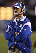 SAN DIEGO - JANUARY 03: Head Coach Tony Dungy of the Indianapolis Colts looks on during the AFC Wild Card playoff game against the San Diego Chargers at Qualcomm Stadium on January 3, 2009 in San Diego, California. The Chargers defeated the Colts 23-17 in overtime. ©Paul Anthony Spinelli *** Local Caption *** Tony Dungy