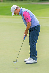 June 22, 2018 - Madison, WI, U.S. - MADISON, WI - JUNE 22: David Toms putting on the ninth green during the American Family Insurance Championship Champions Tour golf tournament on June 22, 2018 at University Ridge Golf Course in Madison, WI. (Photo by Lawrence Iles/Icon Sportswire) (Credit Image: © Lawrence Iles/Icon SMI via ZUMA Press)
