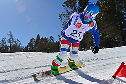 Europa Cup Finals Banked Slalom, PRIOLO Paolo, ITA at the 2016 IPC Snowboard Europa Cup Finals and World Cup