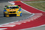 May 4-6, 2017: IMSA Sportscar Showdown at Circuit of the Americas. Turner Motorsport, BMW M6 GT3, Justin Marks, Jens Klingmann, Maxime Martin, Jesse Krohn