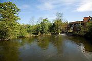 Mill pool Flatford Mill, East Bergholt, Suffolk, Englnd
