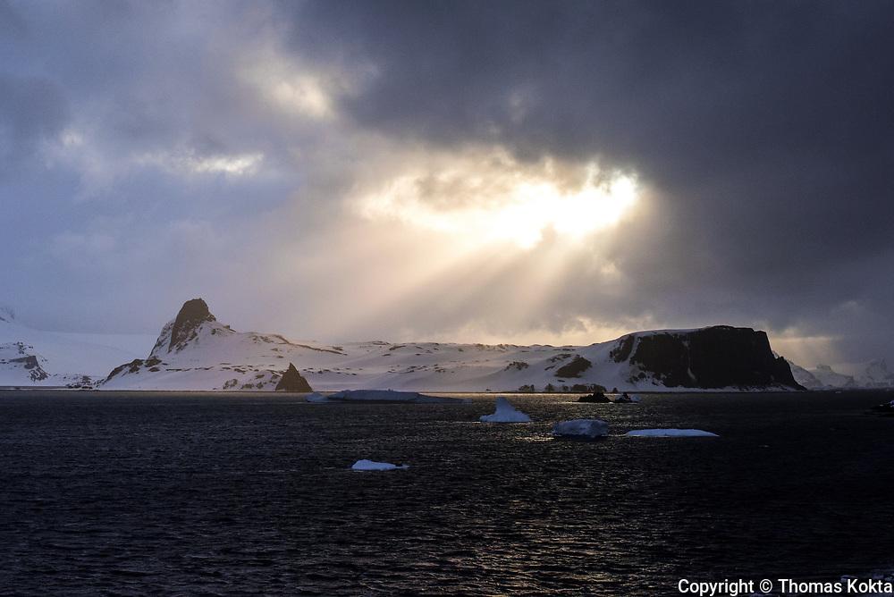 Iceberg at Sunset