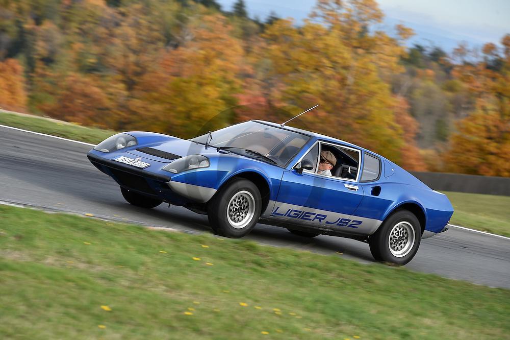 29/10/15 - CHARADE - PUY DE DOME - FRANCE - Essais LIGIER JS2 de 1972 - Photo Jerome CHABANNE