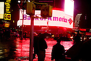 In the rain. New York sous la pluie. NY571A