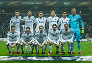 FOOTBALL: Players of FC København before the UEFA Europa League Group F match between FC København and FC Sheriff at Parken Stadium, Copenhagen, Denmark on December 7, 2017. Photo: Claus Birch