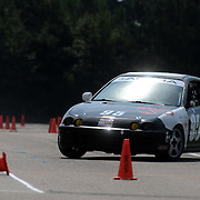 Chris Gaskill competes in Disorderly Coneduct Autox at Blackwater Sunday July 27, 2014 on the North Campus of Cape Fear Community College in Castle Hayne, N.C. (Jason A. Frizzelle)