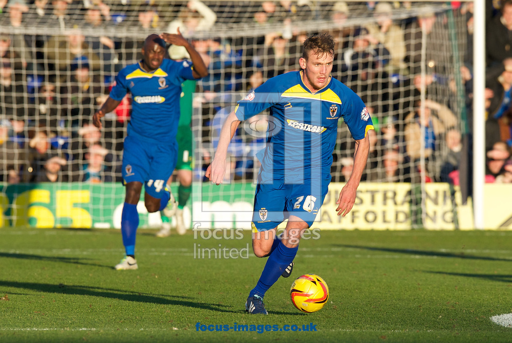 Picture by Alan Stanford/Focus Images Ltd +44 7915 056117<br /> 11/01/2014<br /> Charlie Wyke of AFC Wimbledon during the Sky Bet League 2 match at the Cherry Red Records Stadium, Kingston.