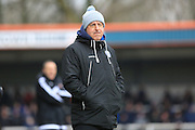 Keith Hill during the Sky Bet League 1 match between Rochdale and Sheffield Utd at Spotland, Rochdale, England on 27 February 2016. Photo by Daniel Youngs.