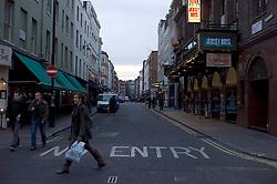 UK ENGLAND LONDON 23NOV11 - Street scene on Old Compton Street in Soho, the heart of  the West End, central London.....jre/Photo by Jiri Rezac....© Jiri Rezac 2011