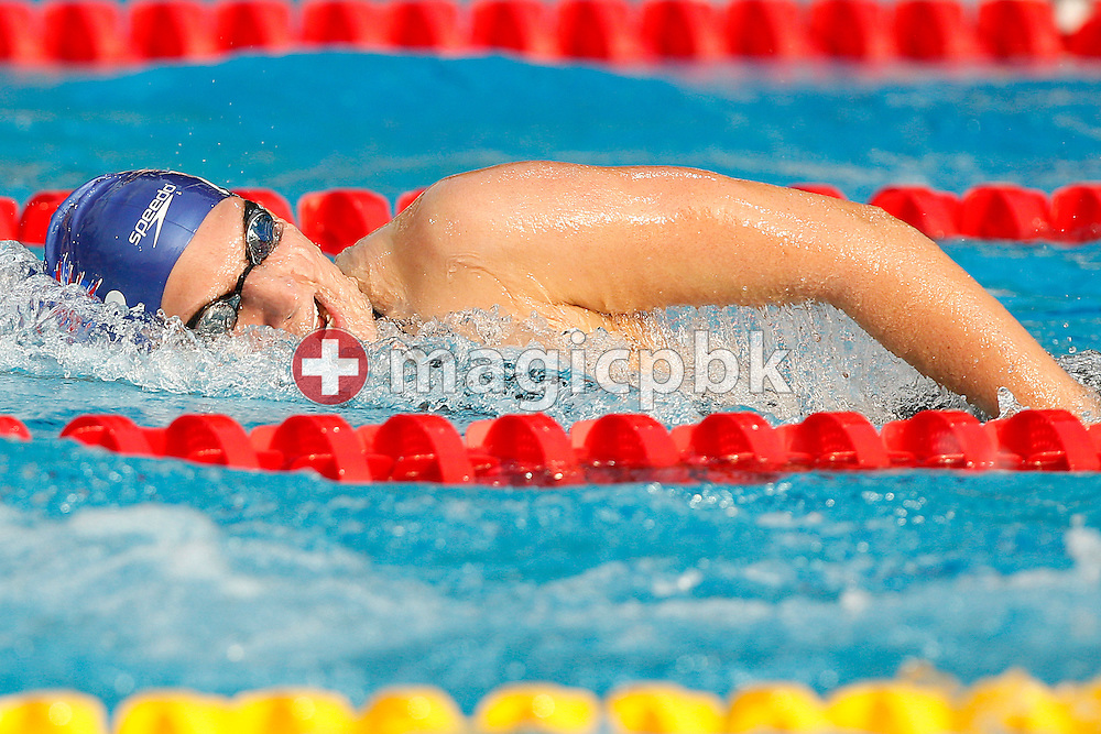 Rebecca ADLINGTON of Great Britain competes in the women's 400m Freestyle Final at the European Swimming Championship at the Hajos Alfred Swimming complex in Budapest, Hungary, Sunday, Aug. 15, 2010. (Photo by Patrick B. Kraemer / MAGICPBK)