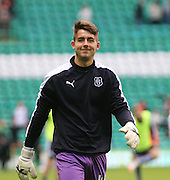 Dundee's Kyle Gourlay - Celtic v Dundee - Ladbrokes Premiership at Celtic Park<br /> <br /> <br />  - © David Young - www.davidyoungphoto.co.uk - email: davidyoungphoto@gmail.com