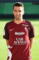 Yann Jouffre of Metz during photoshooting of Fc Metz for season 2017/2018 on August 2nd 2017 in Metz<br /> Photo : Fred Marvaux / Icon Sport