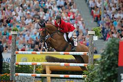Skrzyczynski, Jaroslaw (POL), Crazy Quick<br /> Aachen - Europameisterschaften 2015<br /> Springen Finale Einzelwertung<br /> © www.sportfotos-lafrentz.de/Stefan Lafrentz