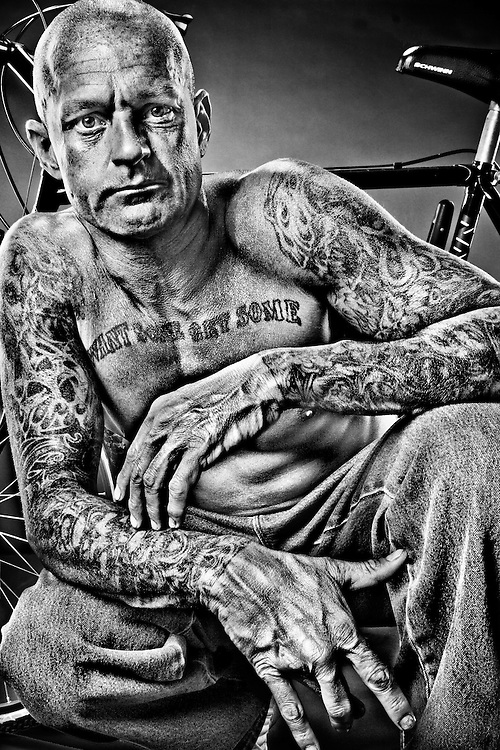 Terry was an only child with a truck-driver dad, who started doing<br />