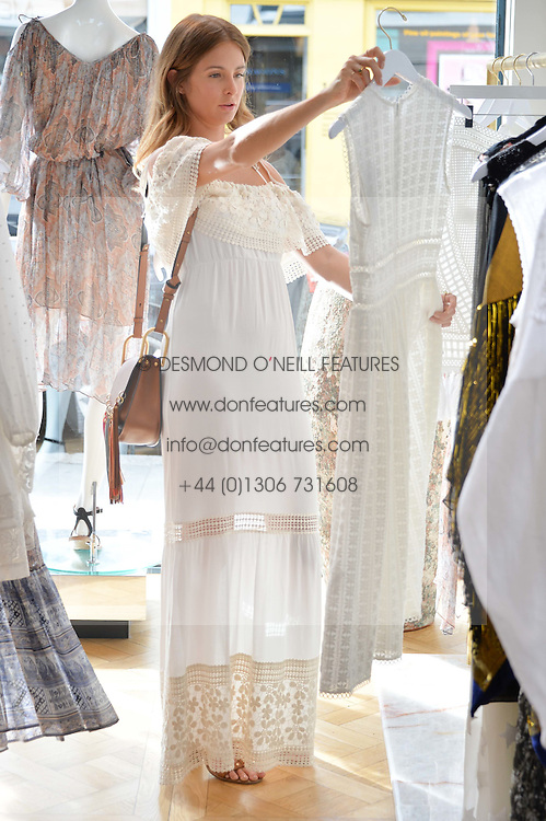 MILLIE MACKINTOSH at the launch of the new Salt store at 91 Walton Street, London on 7th July 2016.