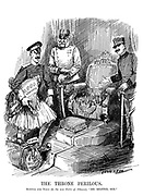 "The Throne Perilous. Austria and Italy (to the new ruler of Albania). ""Be seated, Sir."""