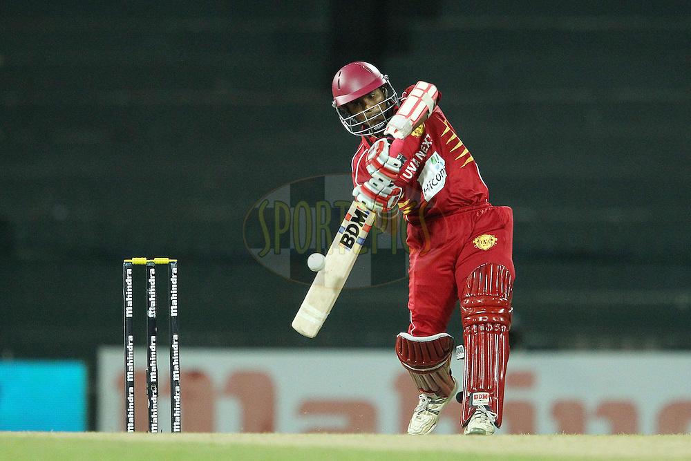 Dilshan Munaweera during match 21 of the Sri Lankan Premier League between Uva Next and Nagenahiras held at the Premadasa Stadium in Colombo, Sri Lanka on the 27th August 2012. .Photo by Ron Gaunt/SPORTZPICS/SLPL