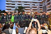 Team Banco di Sardegna Dinamo Sassari<br /> Festa Supercoppa a Sassari<br /> Zurich Connect Supercoppa LBA 2019<br /> Sassari, 23/09/2019<br /> Foto L.Canu / Ciamillo-Castoria