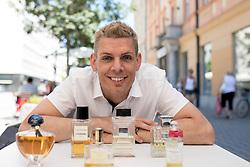 Portrait of dr. Rihard Knafelj, MD-PhD, during interview about perfumes, on July 18, 2017 in Ljubljana, Slovenia. Photo by Matic Klansek Velej / Sportida