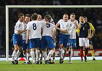 Scotland v Iceland<br /> World Cup Qualifier<br /> Hampden Park / BT Stadium<br /> Glasgow<br /> <br /> Iceland goal - Indrioi Sigurosson<br /> 1st April 2009<br /> <br /> <br /> <br /> <br /> Ian MacNicol<br /> 07949 850 537<br /> ian_mac1966@yahoo.com<br /> www.ianmacnicolimages.co.uk