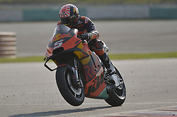 February 7, 2019 - Sepang, Malaysia - Red Bull KTM Factory Racing's rider Johann Zarco of France powers his bike during the second day of the 2019 MotoGP pre-season testing at Sepang International Circuit February 7, 2019. (Credit Image: © Zahim Mohd/NurPhoto via ZUMA Press)