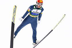 February 8, 2019 - Lahti, Finland - Mario Seidl competes during Nordic Combined, PCR/Qualification at Lahti Ski Games in Lahti, Finland on 8 February 2019. (Credit Image: © Antti Yrjonen/NurPhoto via ZUMA Press)