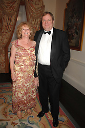 PETER & DOROTHY WRIGHT at a pub style quiz night in aid of Rapt at Willaim Kent House, The Ritz, London on 25th June 2006.  The questions were composed by Judith Keppel and the winning team won £1000 to donate to a charity of their choice.<br /><br />NON EXCLUSIVE - WORLD RIGHTS