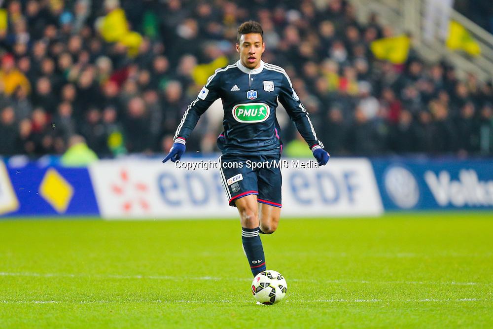 Corentin Tolisso  - 20.01.2015 - Nantes / Lyon  - Coupe de France 2014/2015<br /> Photo : Vincent Michel / Icon Sport