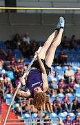 Shawn Barber (CAN)  places third in the pole vault at 18-6½ (5.65m) during the IAAF Continental Cup 2018 at Mestky Stadion in Ostrava, Czech Republic, Sunday, Sept. 9, 2018. (Jiro Mochizuki/Image of Sport)