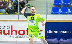 10.12.2017, BSFZ Suedstadt, Maria Enzersdorf, AUT, HLA, SG INSIGNIS Handball WESTWIEN vs Bregenz Handball, Hauptrunde, 16. Runde, im Bild Olafur Bjarki Ragnarsson (SG INSIGNIS Handball WESTWIEN) // during Handball League Austria 16 th round match between SG INSIGNIS Handball WESTWIEN and Bregenz Handball at the BSFZ Suedstadt, Maria Enzersdorf, Austria on 2017/12/10, EXPA Pictures © 2017, PhotoCredit: EXPA/ Sebastian Pucher
