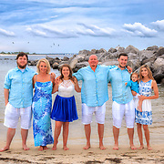 Ussery Family Beach Photos
