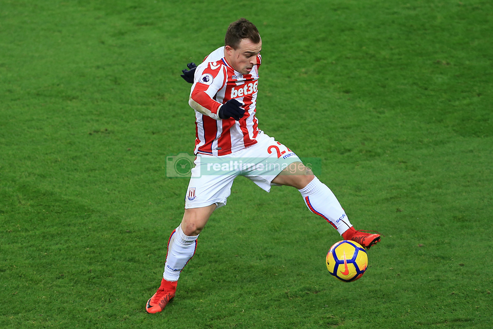 29th November 2017 - Premier League - Stoke City v Liverpool - Xherdan Shaqiri of Stoke - Photo: Simon Stacpoole / Offside.