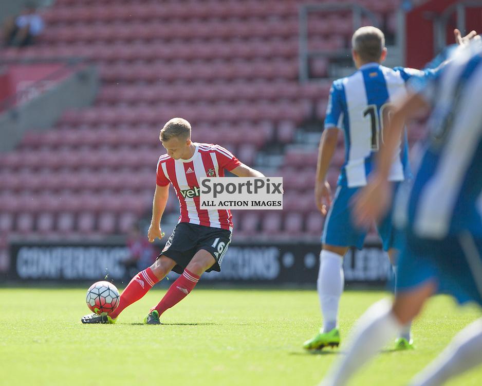 James Ward Prowse free kick<br /> <br /> Southampton F.C. Vs Espanyol, Pre Season Friendly, 2nd August 2015