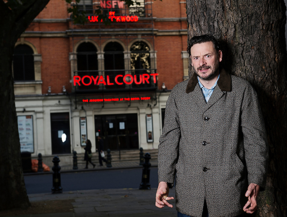Actor &amp; Comedian Julian Barrett at The Royal Court theatre in Sloan Square, London, October 24th 2012.<br />