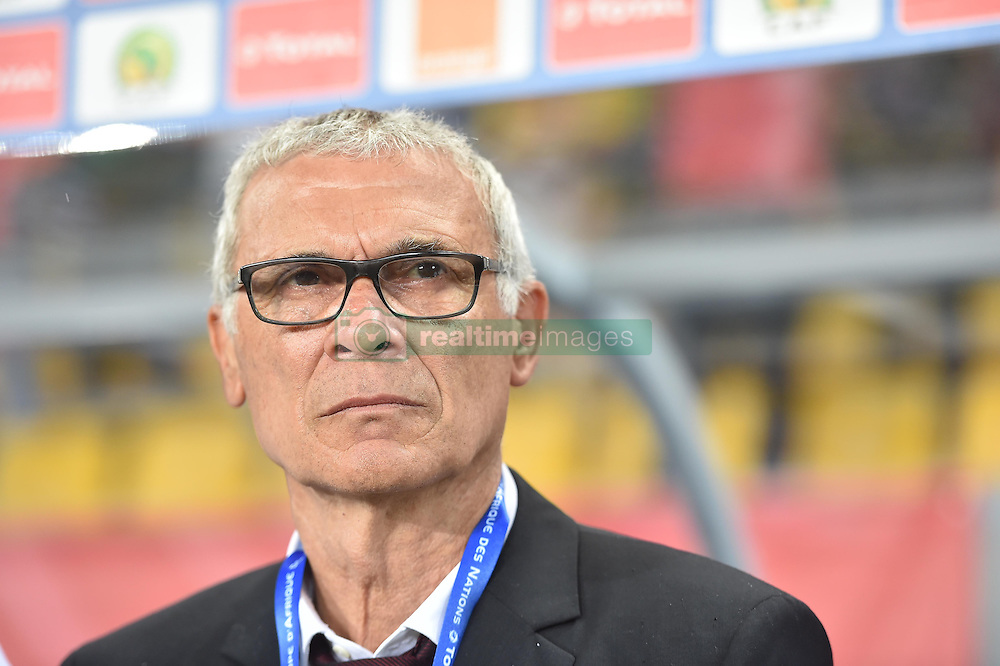 January 17, 2017 - France - Egypte entraineur coach H. Cuper (Credit Image: © Panoramic via ZUMA Press)