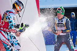 18.12.2016, Grand Risa, La Villa, ITA, FIS Ski Weltcup, Alta Badia, Riesenslalom, Herren, Siegerpräsentation, im Bild Marcel Hirscher (AUT, 1. Platz), Florian Eisath (ITA, 3. Platz) // race winner Marcel Hirscher of Austria, third placed Florian Eisath of Italy during the winner presentation for the men's Giant Slalom of FIS ski alpine world cup at the Grand Risa race Course in La Villa, Italy on 2016/12/18. EXPA Pictures © 2016, PhotoCredit: EXPA/ Johann Groder