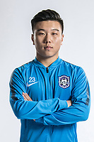 **EXCLUSIVE**Portrait of Chinese soccer player Yang Wanshun of Tianjin TEDA F.C. for the 2018 Chinese Football Association Super League, in Tianjin, China, 28 February 2018.