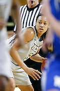 March 3, 2011: Central Florida guard Angelica Mealing (3) during second half womens Conference USA NCAA basketball game action between the Memphis Lady Tigers and the Central Florida Knights. Central Florida defeated Memphis 70-52 at the UCF Arena Orlando, Fl.
