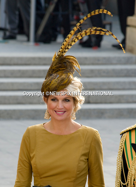 "CROWN PRINCESS MAXIMA OF HOLLAND.Wedding of HRH the Hereditary Grand Duke and Countess Stéphanie de Lannoy.Religious Ceremony at Cathedral of Our lady of Luxembourg, Luxembourg_20-10-2012.Mandatory credit photo: ©Dias/NEWSPIX INTERNATIONAL..(Failure to credit will incur a surcharge of 100% of reproduction fees)..                **ALL FEES PAYABLE TO: ""NEWSPIX INTERNATIONAL""**..IMMEDIATE CONFIRMATION OF USAGE REQUIRED:.Newspix International, 31 Chinnery Hill, Bishop's Stortford, ENGLAND CM23 3PS.Tel:+441279 324672  ; Fax: +441279656877.Mobile:  07775681153.e-mail: info@newspixinternational.co.uk"