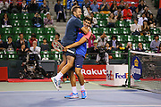 Pierre-Hugues Herbert (FRA) & Michal Przysiezny (POL), <br /> OCTOBER 5, 2014 - Tennis : Rakuten Japan Open Tennis Championships 2014, <br /> doubles Final match between Pierre-Hugues Herbert (FRA) & Michal Przysiezny (POL) - Ivan Dodig (CRO) & Marcelo Melo (BRA) at Ariake Coliseum, Tokyo, Japan. <br /> (Photo by Yohei Osada/AFLO SPORT) [1156]
