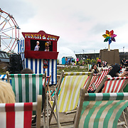 A Punch and Julie play by Julie Burchill. On the first day the show is open only a thousand locals who won free ticket gets an advanced entry to the show.Dismaland, a bemusement park set up by artist Banksy show casing more hand 40 artists. The bemusement park is set in a former lido in Weston Super-Mare.After much secrecy the show opened to a small number of locals from Weston Super-Mare Friday and fully to the public Saturday Aug 22.
