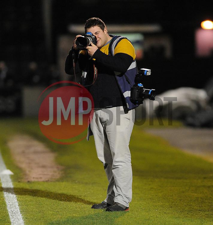 Rogan - Photo mandatory by-line: Neil Brookman/JMP - Mobile: 07966 386802 - 24/02/2015 - SPORT - Football - Bristol - Memorial Stadium - Bristol Rovers v Braintree - Vanarama Football Conference